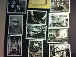 NORVEGE - TROLDHAUGEN - Petite Pochette De 10 PHOTOS - Nina Et Edvard GRIEGS - Musiciens - Lieux