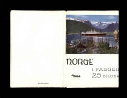 NORVEGE - Pochette De 25 Petites Photos - Très Jolie Pochette - - Lieux