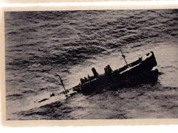 AK WW II Italienisches Militär AVIATION UNIT Feind, Der Von Einem Italienischen TORPEDO Sinkt BETROFFEN - 1939-1945: 2ème Guerre