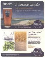 United Kingdom. England. Sharp´s. Rock - Cornwall. Doom Bar. A Natural Wonder. Only Four Natural Ingredients.Royaume Uni - Bierviltjes