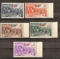 COLON - ECUADOR 1939 - No Catalogado - NMH ** - Christopher Columbus