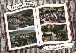 CPSM 68 / SOULTZBACH LES BAINS / EGLISE, RUE DE L' EGLISE, VUE GENERALE, MAISON FAMILIALE RIED ET HART - Autres Communes