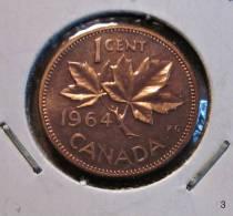 Münze Coin Canada Ahornblatt 1 Cent 1964 - Canada