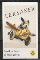 SWEDEN - 2000 - CHILDREN TOYS - LEKSAKER-  Carnet Yvert # C2178 - USED - Used Stamps