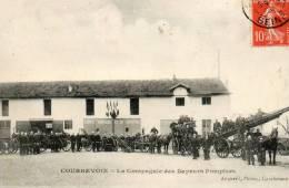COURBEVOIE - La Compagnie Des Sapeurs Pompiers - Animée - 73334 - Courbevoie