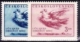 ** Tchécoslovaquie 1951 Mi 643-4 (Yv 556-7), (MNH) - Nuovi