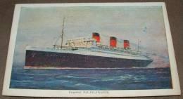 Paquebot - Ile De France - Cie Gle Transatlantique - French Line - Dampfer