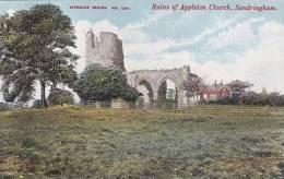 APPLETON CHURCH RUINS, SANDRINGHAM - Angleterre