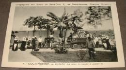 Congregation Des Soeurs De Saint Paul - Chartres - Cochinchine - Cholon Le Retour Du Marché Et Promenade - Viêt-Nam