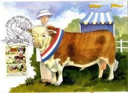 Foires Agricoles En Australie. Carte-maximum. PRIX REDUIT! - Agriculture