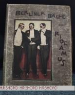 """Rideamus. Berliner Bälle. Mit Bildern Von Ernst Heilemann. Berlin W 35. """"Harmonie"""" Verl.-gesellsch. F. Literatur U. Kuns - Books, Magazines, Comics"""