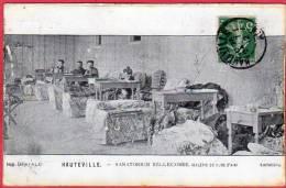 CPA 01 HAUTEVILLE Sanatorium BELLECOMBe Galerie De Cure D'air  ( Interieur Malades  ( W15 ) Lompnes - Hauteville-Lompnes