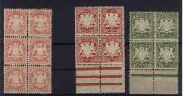 Lot Bayern Michel No. 33 , 56 B x , 61 * ungebraucht / die unteren Marken sind ** postfrisch