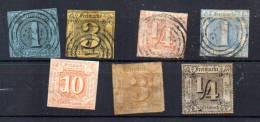 Tour Et Taxis 1851-67, Etats Du Nord, Entre 4 Et 26, Cote 164 €, - Thurn Und Taxis