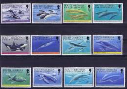 South Georgia 1994, Mi 219 - 230 , MNH/**