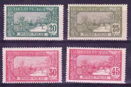 Guadeloupe N°80 - 81 - 82 - 84  Neufs Charniere - Guadeloupe (1884-1947)