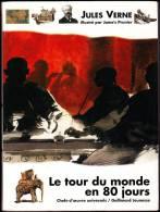 Jules Verne  - Le Tour Du Monde En 80 Jours - Chefs-d´œuvre Universels 2 / Gallimard Jeunesse - ( 1994 ) . - Abenteuer