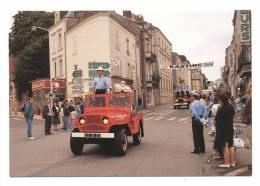 Laval   Défilé Du 14 Juillet 1991  Pompiers   Chef De Détachement Lt Rivière Yves - Sin Clasificación