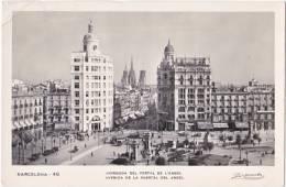 Pf. BARCELONA. Avinguda Del Portal De L'Angel. 46 - Barcelona