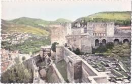 Pf. GRANADA. Alhambra. Murallas. 9 - Granada