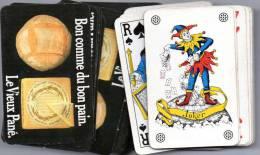 Jeu De 32 Cartes à Jouer : Fromage Le Vieux Pané. Bon Comme Du Bon Pain. - Group Games, Parlour Games