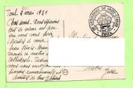 -Cartes -N° Yvert   880 Jules Ferry    - -Centenaire De Saint-Gérard - TOUL 3/5/1951 - Cartes-Maximum