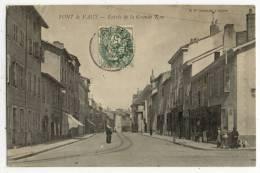 01 - PONT De VAUX. -  Entrée De La Grande Rue. - Pont-de-Vaux