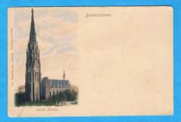 CPA - Bremerhaven- Unirte Kirche- Carte Début Siècle-Allemagne - Bremerhaven
