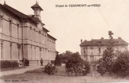 CPA..CHAUMONT EN VEXIN...L´ HOPITAL......PRIX: 1,99 € - Chaumont En Vexin