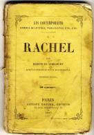 RACHEL - Les Contemporains Par Eugéne De Mirecourt -  Broché.   Ed Gustave Havard. - Biographie