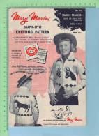 Mary Maxim Prairie Prancer  ( Instruction Complète Pour Confectionner  Ce Model S'ouvre Pour 4 Fois La Grandeur ) 2 Scan - Wool