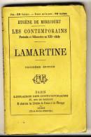 LAMARTINE  - Les Contemporains D´Eugène De Mirecourt. Broché. Ed Librairie Des Contemporains. - Biographie