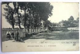 JOUX LA VILLE 89 -  L'ABREUVOIR Animé - Autres Communes