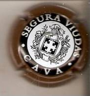 PLACA DE CAVA SEGURA VIUDAS  (CAPSULE) MARRON - Placas De Cava