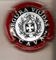 PLACA DE CAVA SEGURA VIUDAS  (CAPSULE) ROJO - Schaumwein - Sekt