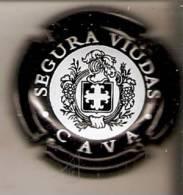 PLACA DE CAVA SEGURA VIUDAS  (CAPSULE) NEGRO - Schaumwein - Sekt