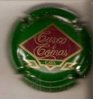 PLACA DE CAVA CUSCO I COMAS  (CAPSULE) VERDE - Schaumwein - Sekt