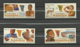NAMIBIE - 2003 - DEVELOPPEMENT RURAL EN NAMIBIE - N° 993/996 - NEUF*** - Namibia (1990- ...)