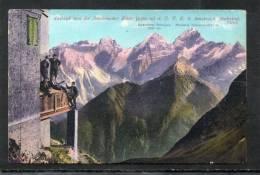 31. AUSBLICK VON DER INNSBRUCKER HÜTTE      ~ 1910 - Österreich