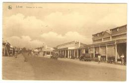LIKASI    ---   Avenue   De  La  Mine   (  Automobiles  Anciennes ) - Congo Belge - Autres