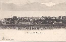 6858 - Morges Et Le Mont-Blanc - VD Vaud