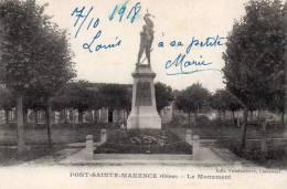 CPA..PONT SAINTE MAXENCE......LE  MONUMENT  ...PRIX: 1,99 € - Pont Sainte Maxence