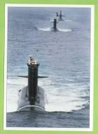Force Sous-Marine En Ligne De File, Marine Nationale. - Submarines