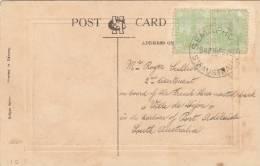 Cachet De SEMAPHORE D'Australie (1912) - Télécom