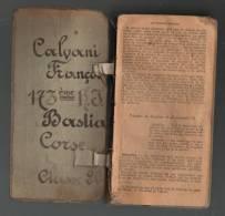 MANUEL MILITAIRE Ayant Appartenu à CALVANI François Du 173ème Régiment D´Infanterie à Bastia - Classe 20 - 1223 Pages - Livres