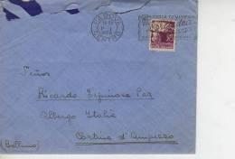 GIOIA DI VIVERE PROFUMO  ORCHIDEA BIANCA GARMEL IMPERIAL  PADOVA  CARTA CIRCULADA     OHL - 6. 1946-.. Republic