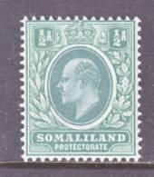 Somaliland  Protectorate  40  *  Wmk. 3  1905  Issue - Somaliland (Protectorate ...-1959)