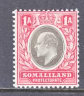 Somaliland  Protectorate  41  *  Wmk. 3  1905  Issue - Somaliland (Protectorate ...-1959)