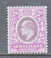 Somaliland  Protectorate  42  *  Wmk. 3  1905  Issue - Somaliland (Protectorate ...-1959)