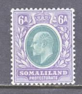 Somaliland  Protectorate  45  *  Wmk. 3  1905  Issue - Somaliland (Protectorate ...-1959)
